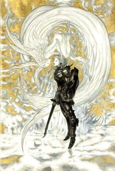 Final Fantasy - Art by Yoshitaka Amano