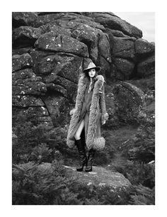 """""""Spirit of Albion""""   Model: Sara Blomqvist, Photographer: Ben Toms, Harper's Bazaar UK, October 2011"""