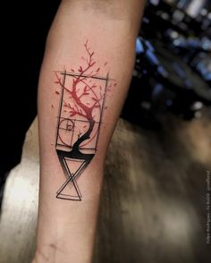 Bildergebnis für tree abstract tattoo