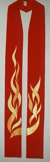 Pentecost Dancing Flames