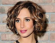 Image result for short to medium length hairstyles for thick wavy hair