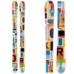 Roxy skis.