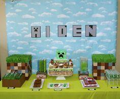 Aiden's Minecraft Birthday! | CatchMyParty.com