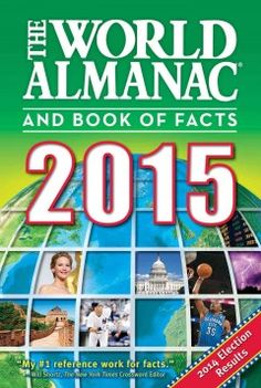 """The World Almanac and Book of Facts is America's top-selling reference book of all time, with more than 82 million copies sold. Published annually since 1868, this compendium of information is the authoritative source for all your entertainment, reference, and learning needs. The 2015 edition of The World Almanac [edited by Sarah Janssen] reviews the events of 2014 and will be your go-to source for any questions on any topic."" (Publisher's note)"