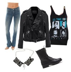 """""""Untitled #10"""" by demongrasergirl on Polyvore featuring Mother, Chicnova Fashion and Linea Pelle"""