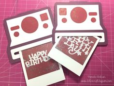 Polaroid Camera Slide Out Shaker Card | Close To My Heart