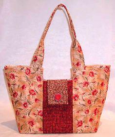 Gracie Handbag Sewing Pattern Free Video Tutorial