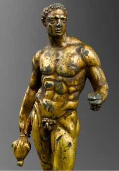 God Mercury statuette, Roman 1st-2nd century AD