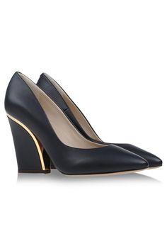 13 Stylish Heels That Won't Kill Your Feet #refinery29  http://www.refinery29.com/comfortable-fall-heels#slide2