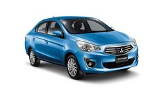 The new Mitsubishi Mirage went on sale in Thailand not too long ago, but already, the Japanese automaker is expanding its lineup with a subcompact sedan version of the four-door hatchback. Mitsubishi Mirage, Mitsubishi Motors, Honda Civic Hybrid, New Cars For Sale, Best Gas Mileage, Auto News, Car Prices, Nsx, Maurice