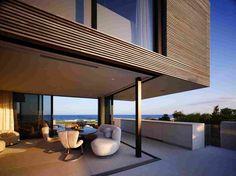 Дом на берегу океана на Лонг-Айленде, США