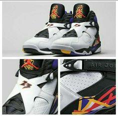 Jordan retro 8 Just got this weekend Sneaker Games, Michael Jordan Shoes, Portland Trailblazers, Los Angeles Lakers, Chicago Bulls, Jordan Retro, Shoe Boots, Air Jordans, Kicks