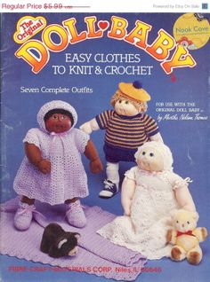 ON SALE 15 DISCOUNT 1984 The Original Doll Baby Easy by NookCove, $5.09
