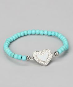 Turquoise - make this with stretch cord