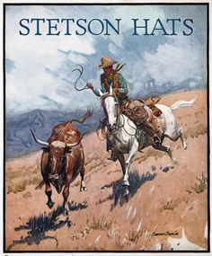 Ad for Stetson hats