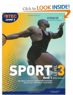 BTEC Level 3 National Sport Book 1: Book 1 BTEC National Sport 2010: Amazon.co.uk: Mr Ray Barker, Ms Chris Lydon, Mr Nick Wilmot, Mark Adams...