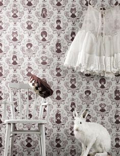 dog wallpaper and a bunny.
