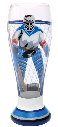 Hockey Goalie Glass