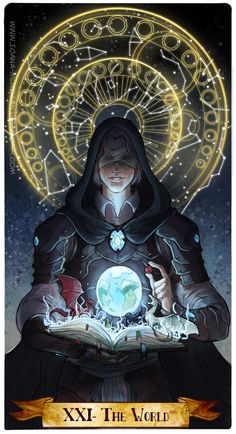 XXI- The world by Ioana-Muresan on DeviantArt