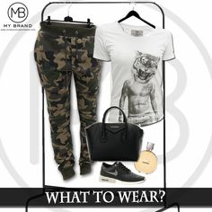 Outfit inspiration with our MY BRAND Tiger Head Tee!