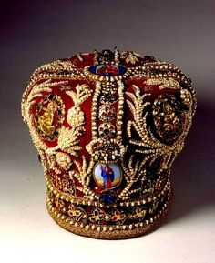 Imperial Jewels of the Diamond Fund of Russia, this is a Russian mitre