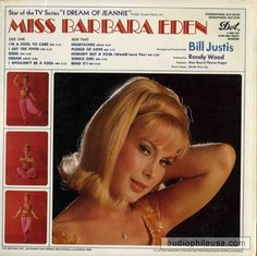Back cover~Barbara Eden's record album 1967