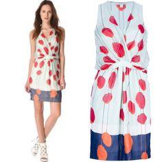 DVF dress Diane Von  Furstenberg dress. 100 % Silk. New with Tags. US size 8. However runs between a size US 6/8 Diane von Furstenberg Dresses