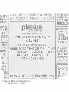 Plexus has changed my life, and I know it will change yours! Check out www.dejalister.myplexusproducts.com to place an order or message me if you have any questions about the products, becoming a Plexus Ambassador or if you would like to try a sample.