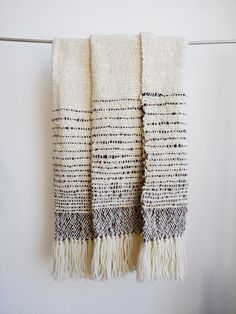 Handwoven blanket wrap Black sheep Bed by TexturableDecor on Etsy