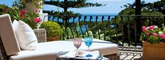 Hotel La Minerva Capri- the best! and we even bought the wine glasses!
