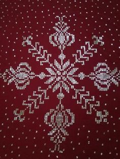 Embroidery Motifs, Weaving Patterns, Bargello, Diy And Crafts, Cross Stitch, Beads, Rage, Spring, Xmas