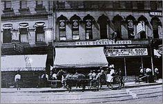 Harry Loper's Restaraunt 1908. Springfield, Illinois