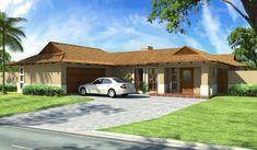 Bali Style 203m² Eastern Entrance House Plan