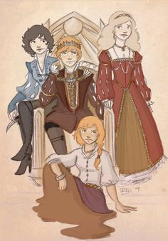 Rand and his girls. Rose Muse on DeviantArt. My only beef is Elayne ha. Rand and his girls. Rose Muse on DeviantArt. My only beef is Elayne ha. Rand and his gi Grunge Outfits, Fantasy Books, Fantasy Art, Wheel Of Time Books, Muse, Robert Jordan, Still Love Her, Sci Fi Books, Beef