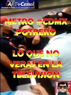Pelea en Metro Potrero Ciudad de Mexico