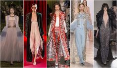 Beautifully Fierce!: Spring 2017 Haute Couture Trends Long coats #couture #fashion #trend