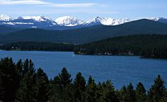 Georgetown Lake near Anaconda, MT...  photo by Travel Montana  (photogallery.mt.gov)