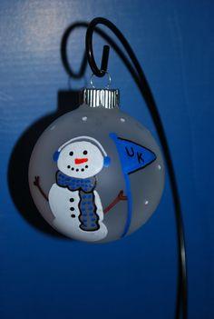 Personalized Christmas Ornament UK