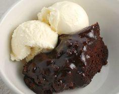 Slow Cooker Nutella Lava Cake - Almond and Pretzel crunch!  www.getcrocked.com