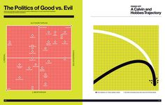 Gallery: Super Graphic | The Verge The Politics of Good vs. Evil Calvin and Hobbes Trajectory