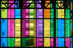 Rainbow colors urban photography avant garde by bomobob on Etsy, $30.00