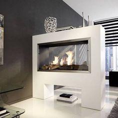 Chimeneas de bioetanol #hogar #casa #moderno #futurista