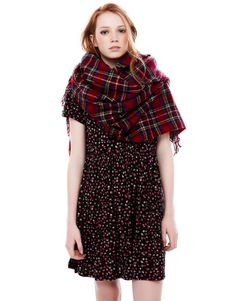 TARTAN CHECK FOULARD - SCARVES AND FOULARDS - WOMAN - PULL Greece