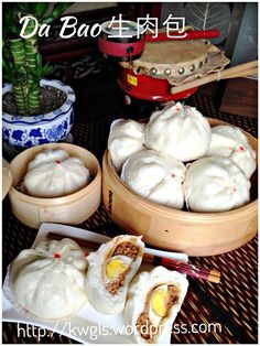 Super sized steamed pork buns: Humbao