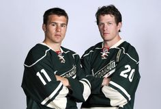 Zach Parise and Ryan Suter