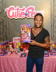 Lil' brother of Tia and Tamera Mowry, Tahj, gave us a jaw-dropping snapshot of a doll he chose for his god sister.  Catch him on ABC's Baby Daddy! (We heard an exclusive tip that they've been picked up for another season! Hooray!!)