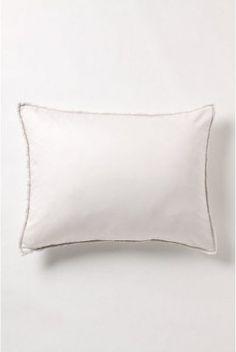 Anthropologie Fragmented Flowers Standard Shams Pillowcases, Set of 2