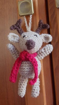 Ravelry: Reindeer Ornament pattern by Loops & Threads™ Design Team