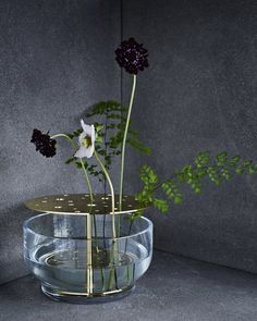 Objects - Ikebana vase I 'Ikebana' is Japanese for making flowers live and is used to describe the art of arranging flowers, it's designed to honour and enjoy the whole flower and not just the crown.