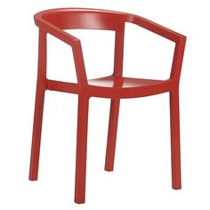 Resol Peach Chair, Chilli  Was £65 Then £39 Now £32.50